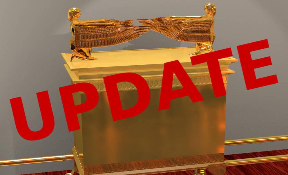 update, ark in Ethiopia is a replica