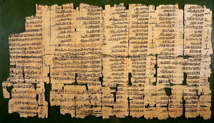 "The ""Dream Book"" a papyrus held in the British Museum. A catalog to interpret dreams."