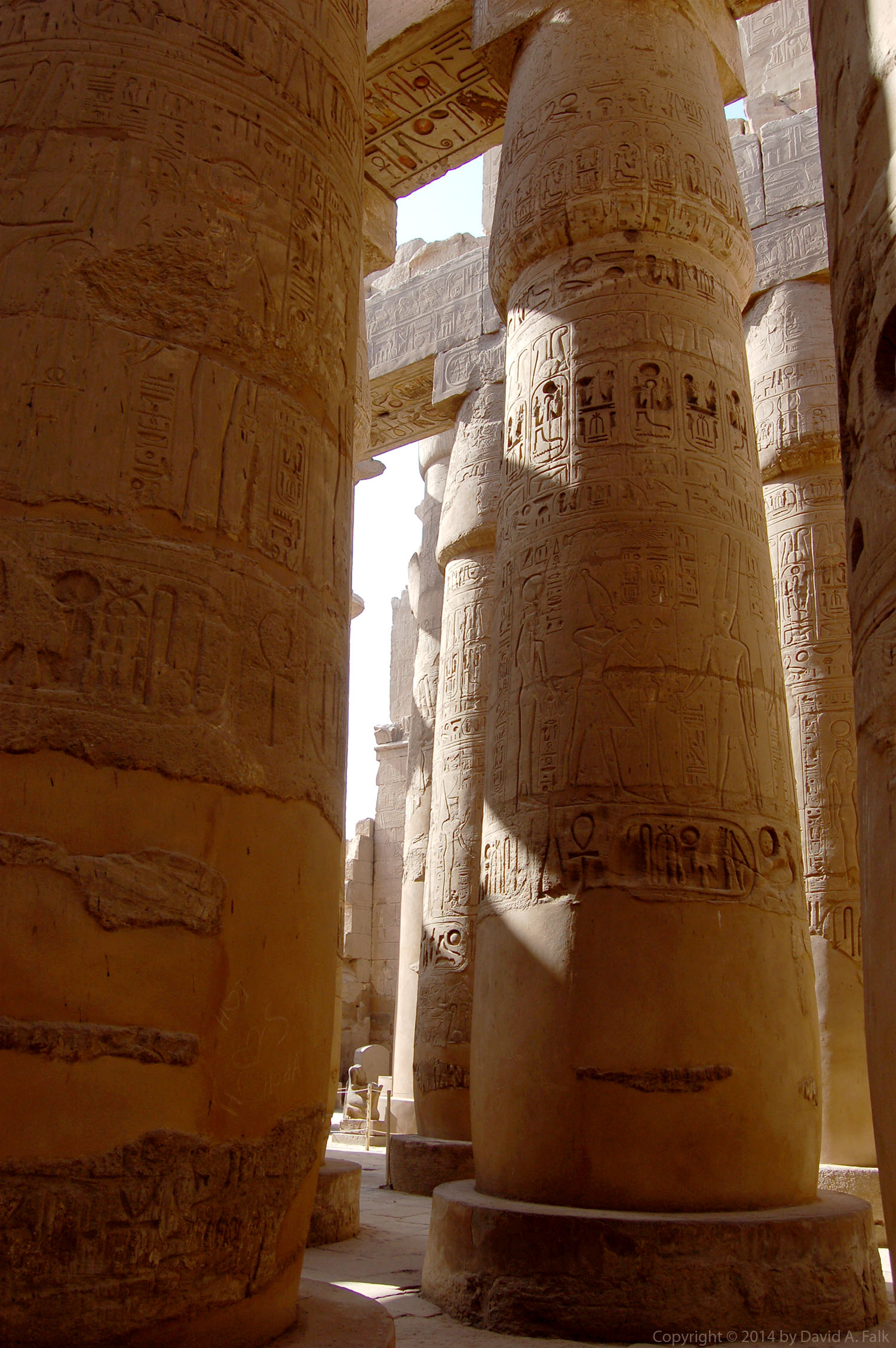 Hypostyle Hall of Ramesses II at Karnak Temple