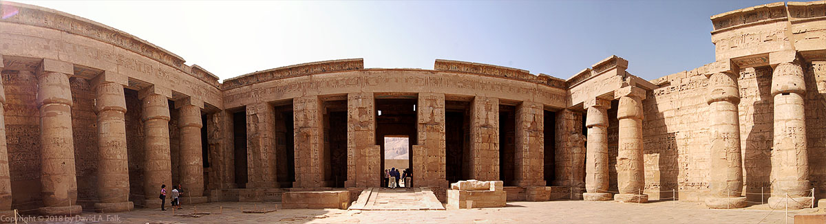 Peristyle Hall at Medinet Habu