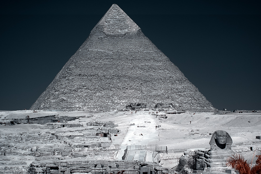 Pyramid in Infrared